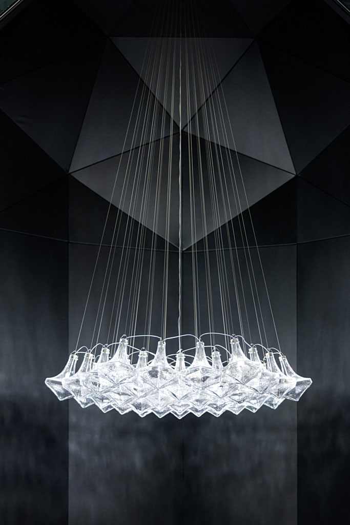 Facet Chandelier by Lasvit