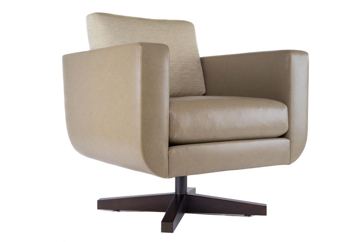 Swivel Lounge Chair Coraggio