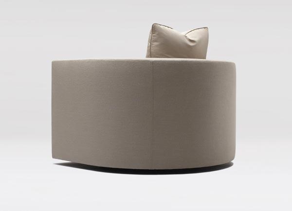 Barrel Lounge Chair Coraggio